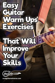 Easy Guitar Warm Ups Exercises That Will Improve Your Skills – Rock Guitar Universe Guitar Chords Beginner, Guitar Chords For Songs, Guitar For Beginners, Guitar Tabs, Guitar Scales, Guitar Strumming, Fingerstyle Guitar, Ukulele, Music Theory Guitar