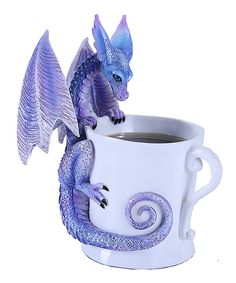 Look what I found on #zulily! Dragon Mug Figurine by Pacific Trading #zulilyfinds