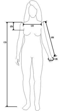 Viking/Norse Tunic measurements