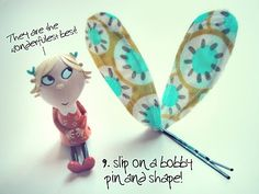 Wants to make Lola hair clips! I LOVE Charlie & Lola! Tutorial for Lola hair clips! Diy For Kids, Crafts For Kids, Diy Crafts, Charlie E Lola, Lola Hair, Fete Ideas, Party Ideas, Barrettes, Hairbows