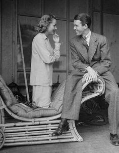 Carole Lombard and James Stewart