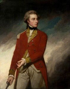 Sir Charles Stuart by George Romney, 1779. Stuart (1753 – 1801) was a British nobleman & soldier. The fourth son of John Stuart, 3rd Earl of Bute & Mary Wortley Montagu. London.