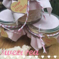 A personal favorite from my Etsy shop https://www.etsy.com/listing/232702163/sweet-pea-body-scrub