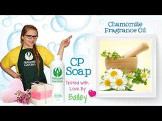 Soap Testing Chamomile Fragrance Oil- Natures Garden