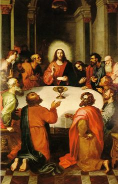 Francisco Ribalta The Last Supper (1606) Real Colegio Seminario del Corpus Christi, Valencia, Spain