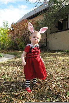 Halloween Costumes Inspired by Children's Books - Olivia from Ian Falconer's Olivia, via Making It Lovely