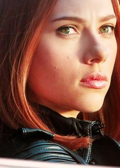 Scarlett Johansson as Black Widow - total girl crush! Grwarrr