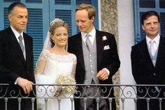 Princess Maria Teresa of Orléans-Bragança married Jan Hessel de Jong in 1995