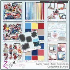 Surf, Sand and Seashells - Bundle