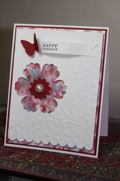 blossom punch card