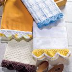 Cute & Crafty Dish Towels To Make