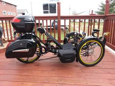 My ICE custom recumbent trike