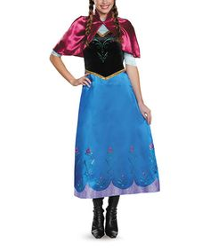 Another great find on #zulily! Frozen Anna Deluxe Traveling Costume Set - Women #zulilyfinds