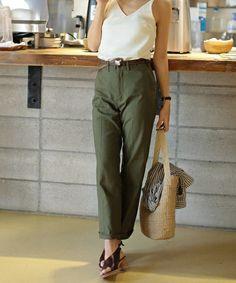 【セール】センタープレスツイルパンツ(パンツ)|TODAYFUL(トゥデイフル)のファッション通販 - ZOZOTOWN