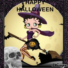 10 of the best animated quotes featuring betty boop to help you have a Happy Halloween Betty Boop Halloween, Spooky Halloween, Happy Halloween, Halloween Stuff, Animated Cartoons, Animated Gif, Marilyn Monroe, Vintage Halloween Cards, Boop Gif