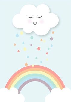 Rain Cloud & Rainbow