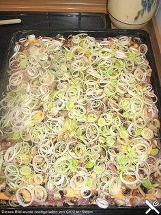 de Recipe: Schnitzelpfanne - Quick and Easy Recipes Easy Cake Recipes, Meat Recipes, Salad Recipes, Chicken Recipes, Dinner Recipes, Cooking Recipes, Healthy Recipes, Free Recipes, Law Carb