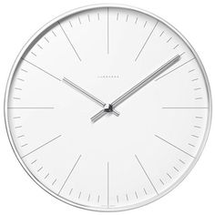 Max Bill Wall Clock with Lines | Stardust Modern Design