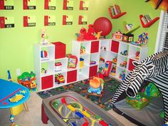 Young boys need a space where they can use their imaginations and be active. Check out these playroom photos from HGTV fans to get ideas for your boy's playroom.