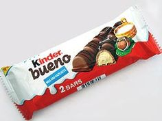 Kinder Bueno! My Favorite chocolate of all time!