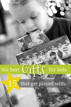 The best gifts for young kids that actually get played with