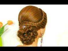 Think I just found my wedding updo! Easy prom hairstyle for long hair. Bridal u. Classy Hairstyles Medium, Prom Hairstyles For Long Hair, Curls For Long Hair, Wedding Hairstyles, Romantic Hairstyles, Bridesmaid Hair Updo, Bridal Hair Updo, Wedding Updo, Prom Updo