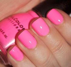 Sinful colors Nail Polish Swatch in 24/7. I have this color! And i LOVE it!! Def a summer color!! I will be having this color on my nails 24/7 lol