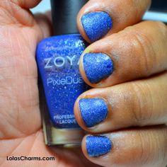 Lola's Charms: Review: Zoya PixieDust in Sunshine