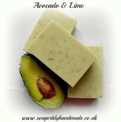 Sounds natural & i bet they smell lovely! Avacocado & Lime handmade soap bars
