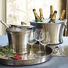 Sterling Beverage Tubs - Ice Buckets - Beverage Dispenser - Frontgate