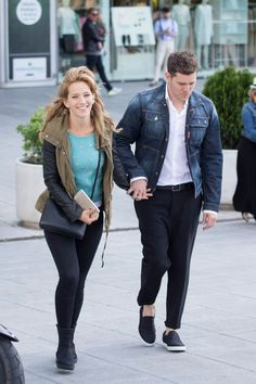 Michael Buble and Luisana Lopilato in Madrid