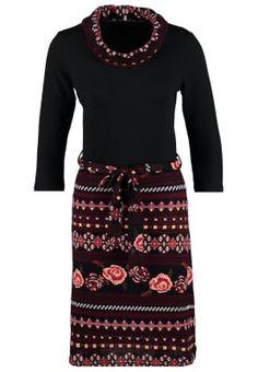 Gebreide jurk - berry
