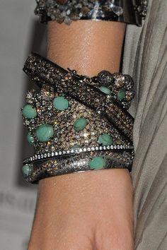 Lorraine-schwartz-diamond-bangles-with-turquoises-