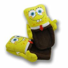 Spongebob Squarepants Soft Plush Slipper Stuffed Cotton Collect Winter Warm Gift by Tangmarket Inc.. $9.97. Package Included: One pair of Soft Plush Slippers.. Material: Cotton & Plush,   Main Color: Yellow. Size: Approx: 27cm(L) x 14cm(W) x 7cm(H). Please check the size in detail carefully before ordering;. Fit Size: M size (Only One Size). ***NOTE!!Please note that the item will be shipped from Hong Kong, the estimated delivery time will be 10-15 business days to USA. S...