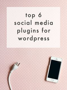 Top 6 #SocialMedia WordPress Plugins! Drive that traffic to and from your blog with ease! | The Blog Market