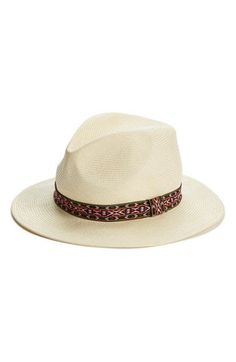 Sole Society Straw Panama Hat available at #Nordstrom