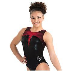 GK Laurie Hernandez Lady in Red Gymnastics Leotard  dadda860262