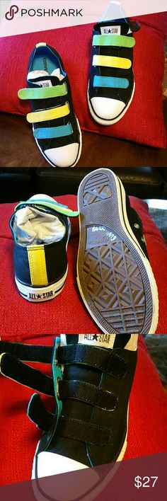 Converse all star Converse All Star. Velcro tab closers new condition. Converse  Shoes Sneakers