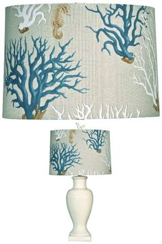 Blue Coral Lampshade: http://www.completely-coastal.com/2016/04/coastal-beach-nautical-lamp-shades.html