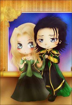 Sigyn & Loki