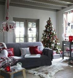 Motivos navideños para decorar la chimenea - 50 ideas
