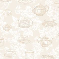 Great deals on wallpaper ✔ Coloured wallpaper, jungle wallpaper, floral, plain and more. Find your perfect style of wallpaper at Homebase 🏠 Cream Wallpaper, Wallpaper Uk, Plain Wallpaper, Vintage Tea Rooms, Alice In Wonderland Room, Fabric Covered Walls, Craft Stalls, Floor Ceiling, Tea Cups