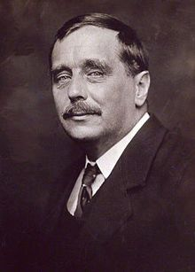 """Shown in 1920 Herbert George """"H. G."""" Wells (21 September 1866 – 13 August 1946) was a prolific English writer in many genres, including the novel, history, politics, and social commentary, and textbooks and rules for war games. He is now best remembered for his science fiction novels, and Wells is called a father of science fiction. His most notable science fiction works include The War of the Worlds, The Time Machine, The Invisible Man, and The Island of Doctor Moreau."""