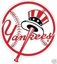 New York Yankees Die Cut Decal Stickers