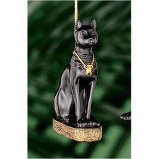 Bastet Egyptian Holiday Ornament