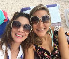 Con mi querida amiga de longtime @ileanarekwest amiga te quiero!!! #puntacana #playablanca
