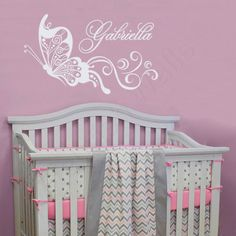 Baby Girl Nursery Wall Art Stickers 40 best girls name wall decals images on pinterest in 2018 | girls