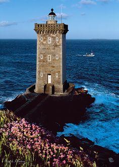 Live in a lighthouse Kermorvan #lighthouse #France
