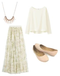 """Untitled #8"" by amanda-wilson-colson on Polyvore featuring Giambattista Valli and Uniqlo"