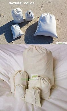 a9c3666a7d68 Bags and Packaging 83895: 500 (4X6) Original Cotton Muslin Drawstring Bags  Bath Soap ~Nice Quality ~ -> BUY IT NOW ONLY: $125 on eBay!